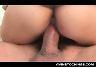 jap stockinged nurse love tunnel fucked in a