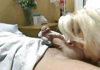 nurse screwed on a hospital couch